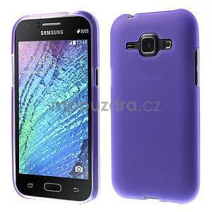 Fialový matný kryt pre Samsung Galaxy J1 - 1