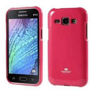 Rose gélový obal na Samsung Galaxy J1 - 1