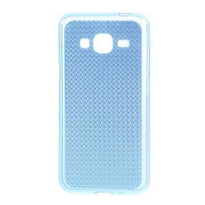 Diamond gelový obal na mobil Samsung Galaxy J3 (2016) - modrý - 1
