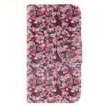 Standy peněženkové pouzdro na Samsung Galaxy J5 - růže - 1/7