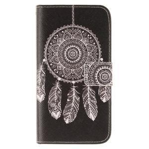 Standy peňaženkové puzdro pre Samsung Galaxy J5 - lapač snov - 1