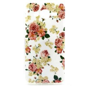 Imda gélový obal pre mobil Samsung Galaxy J5 - kvety - 1