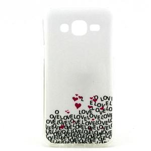 Imda gélový obal pre mobil Samsung Galaxy J5 - láska - 1