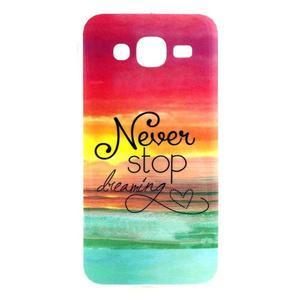 Imda gelový obal na mobil Samsung Galaxy J5 - nepřestávej snít - 1