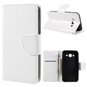 Peněženkové pouzdro na mobil Samsung Galaxy J5 - bílé - 1