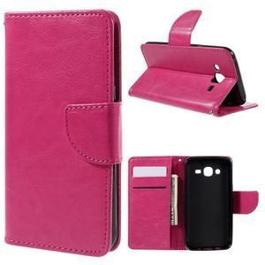 Peněženkové pouzdro na mobil Samsung Galaxy J5 - rose - 1