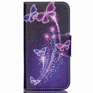 Emotive pouzdro na mobil Samsung Galaxy J5 - kouzelní motýlci - 1