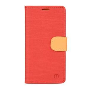 Walls puzdro pre Samsung Galaxy J5 - červené - 1