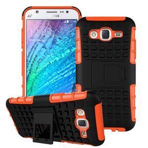 Outdoor kryt na mobil Samsung Galaxy J5 - oranžový - 1