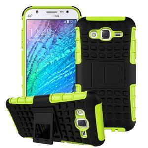 Outdoor kryt na mobil Samsung Galaxy J5 - zelený - 1