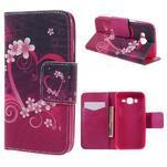 Dairy peňaženkové puzdro pre Samsung Galaxy J5 - srdca - 1/7