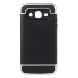Odolný obal na mobil Samsung Galaxy J5 - stříbrný - 1