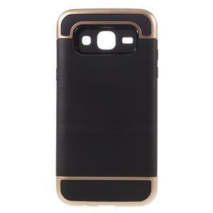 Odolný obal pre mobil Samsung Galaxy J5 - champagne - 1