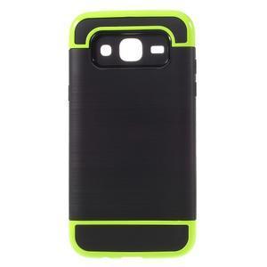 Odolný obal na mobil Samsung Galaxy J5 - zelený - 1