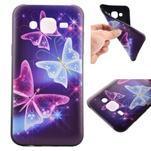 Jelly gelový obal na mobil Samsung Galaxy J5 - kouzelní motýlci - 1/6
