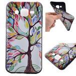 Jelly gélový obal pre mobil Samsung Galaxy J5 - malovaný strom - 1/6
