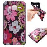 Jelly gelový obal na mobil Samsung Galaxy J5 - koláž květin - 1/6