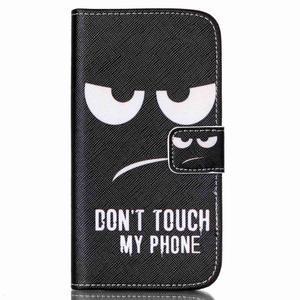 Pictu peňaženkové puzdro pre Samsung Galaxy J5 - nesiahat - 1