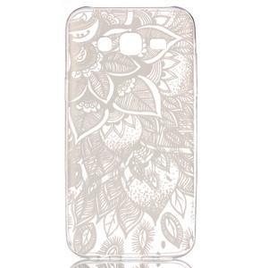 Ultratenký priehľadný obal pre Samsung Galaxy J5 - henna - 1