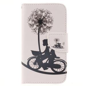 Standy peněženkové pouzdro na Samsung Galaxy J5 - láska na kole - 1