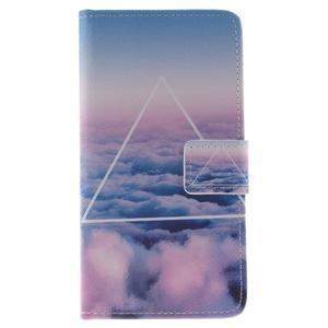 Style peňaženkové puzdro pre Samsung Galaxy J5 (2016) - triangle - 1