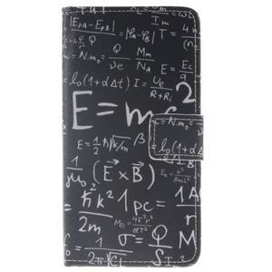 Style peňaženkové puzdro pre Samsung Galaxy J5 (2016) - vzorčeky - 1