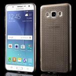 Diamnods gelový obal mobil na Samsung Galaxy J5 (2016) - šedý - 1/5