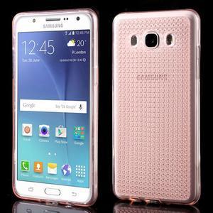 Diamnods gelový obal mobil na Samsung Galaxy J5 (2016) - růžový - 1