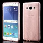 Diamnods gelový obal mobil na Samsung Galaxy J5 (2016) - růžový - 1/5