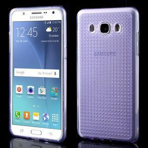 Diamnods gelový obal mobil na Samsung Galaxy J5 (2016) - fialový - 1
