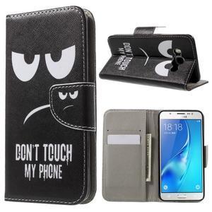 Nice peněženkové pouzdro pro Samsung Galaxy J5 (2016) - nešahat - 1