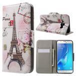 Nice peňaženkové puzdro pro Samsung Galaxy J5 (2016) - Eiffelova veža - 1/7