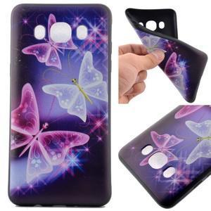Casis gelový obal na mobil Samsung Galaxy J5 (2016) - kouzelní motýlci - 1