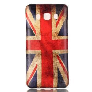 Jelly gélový obal pre Samsung Galaxy J5 (2016) - UK vlajka - 1