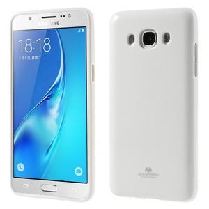 Newsets gélový obal pre Samsung Galaxy J5 (2016) - biely - 1