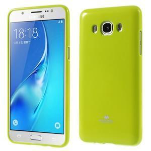 Newsets gelový obal na Samsung Galaxy J5 (2016) - zelený - 1