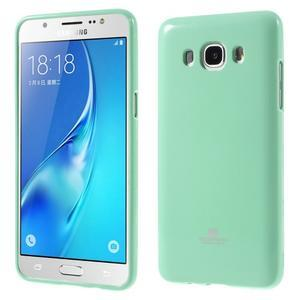 Newsets gelový obal na Samsung Galaxy J5 (2016) - cyan - 1