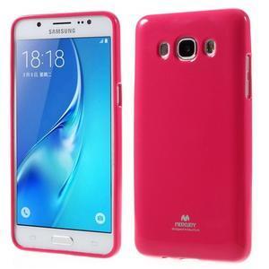 Newsets gelový obal na Samsung Galaxy J5 (2016) - rose - 1