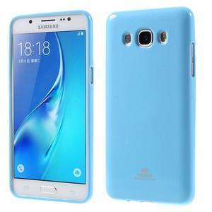 Newsets gélový obal pre Samsung Galaxy J5 (2016) - svetlomodrý - 1