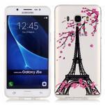 Priehľadný obal pre mobil Samsung Galaxy J5 (2016) - Eiffelova veža - 1/4
