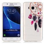 Priehľadný obal pre mobil Samsung Galaxy J5 (2016) - snívanie - 1/4