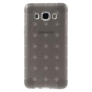 Cube gelový obal na Samsung Galaxy J5 (2016) - šedý - 1