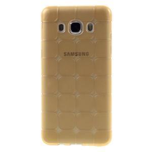 Cube gelový obal na Samsung Galaxy J5 (2016) - zlatý - 1
