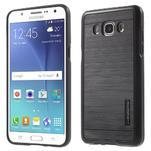 Gelový obal s plastovou výstuhou na Samsung Galaxy J5 (2016) - černý - 1/6