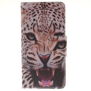 Pictures pouzdro na mobil Samsung Galaxy J5 (2016) - leopard - 1