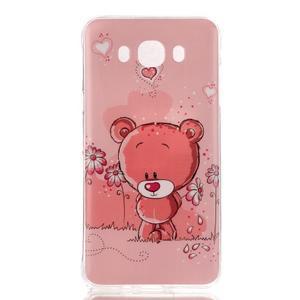 Softy gélový obal pre mobil Samsung Galaxy J5 (2016) - medvídek - 1