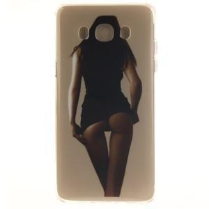 Gelový obal na mobil Samsung Galaxy J5 (2016) - sexy dívka - 1