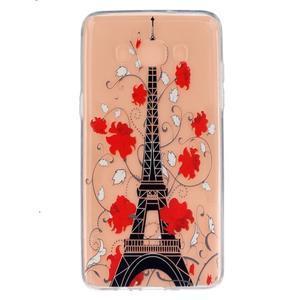 Transparentný gélový obal pre Samsung Galaxy J5 (2016) - Eiffelova veža - 1