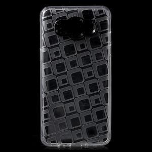 Square gelový obal na Samsung Galaxy J5 (2016) - transparentní - 1
