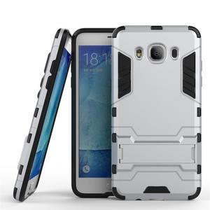 Odolný kryt pre mobil Samsung Galaxy J5 (2016) - strieborny - 1